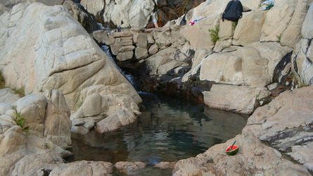 the lowest pool with adjustable temp (Deep Creek)