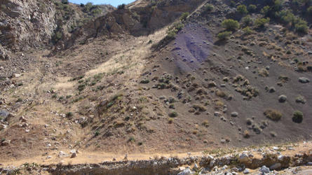 A fault right where the spring source is (Sespe)