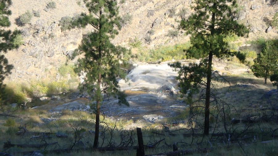 Panther (Big Creek) Hot springs | HotWaterSlaughter - Hot Springs