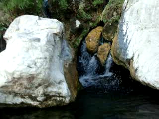 Source and water fall (Goldbug)