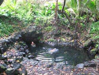 pool in the jungle (Pohoiki) *