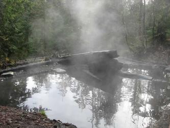 Steaming mud puddle (Baker)
