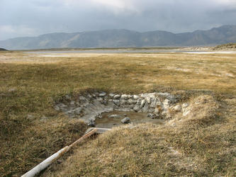 Dry pool (Alkali Lake)