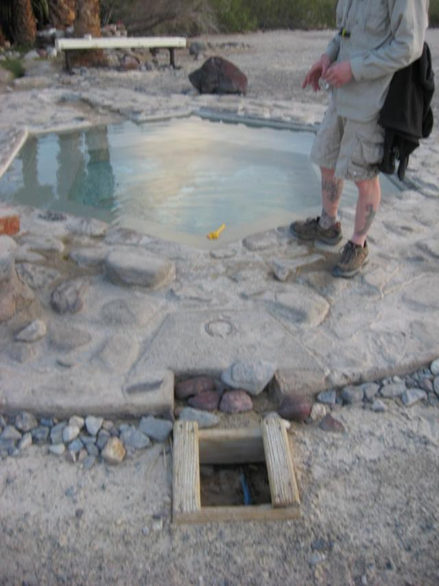 valve to control water flow to pool (Saline Valley Palm Springs)