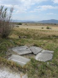 old broken concrete pool (patua)