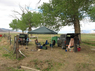 Our camp(Jersey Ranch)