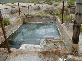 Source pool(Kyle Hot Springs)