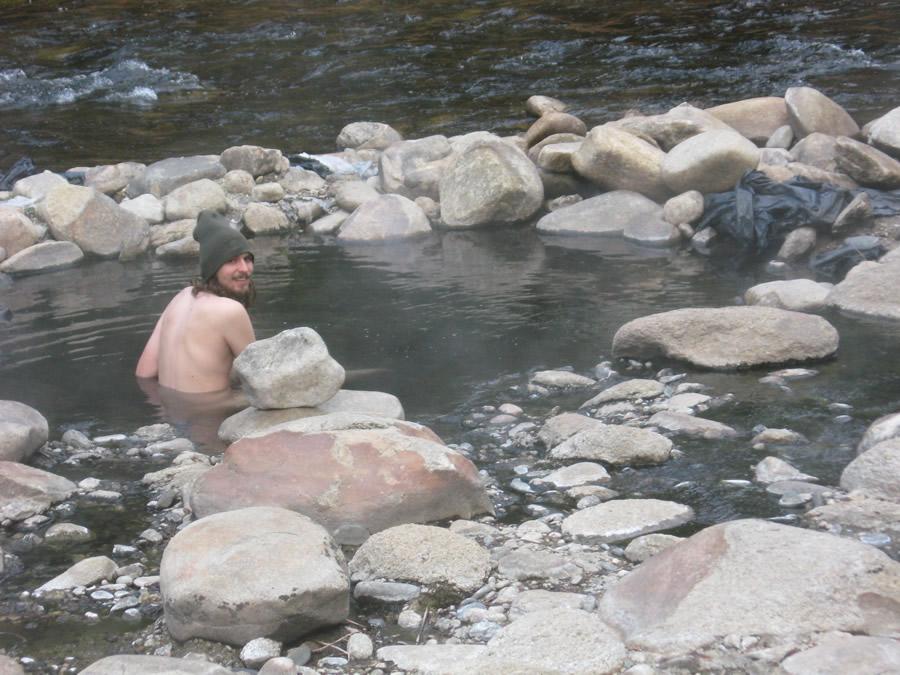 Community hot naked springs type