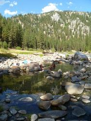 Pretty little pools(Granite Creek)