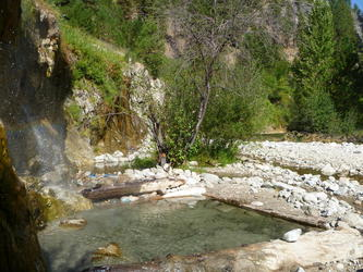 Waterfall pools(Bonneville)