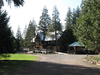 The Great Log Lodge(Breitenbush)
