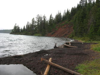 The pools@(Paulina Lake)