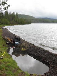 I dug this(Paulina Lake)